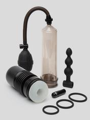 Lovehoney Penis Genius Male Sex Toy Kit (7 Piece), Black, hi-res