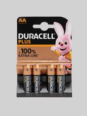 Duracell Plus AA Batteries (4 Pack)