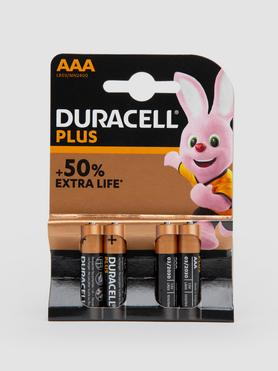 Duracell Plus AAA Batteries (4 pack)