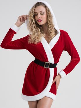 Lovehoney Santa Cutie Red Wrap Dress