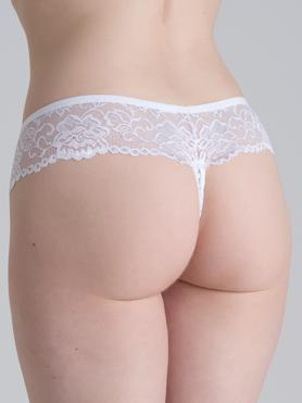 Lovehoney Flirty White Lace Thong