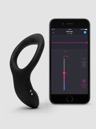Lovense Diamo App Controlled Rechargeable Cock Ring