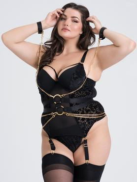 Fifty Shades of Grey Captivate Plus Size Corsagen-Set