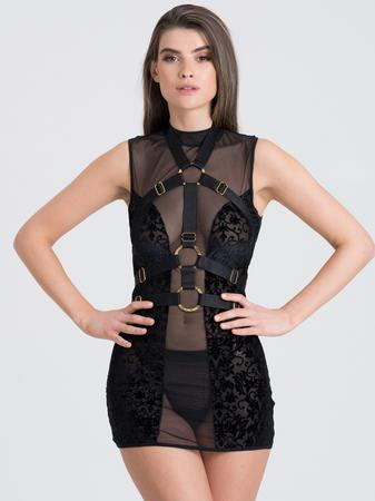 Fifty Shades of Grey Captivate Sheer Dress and Harness Set