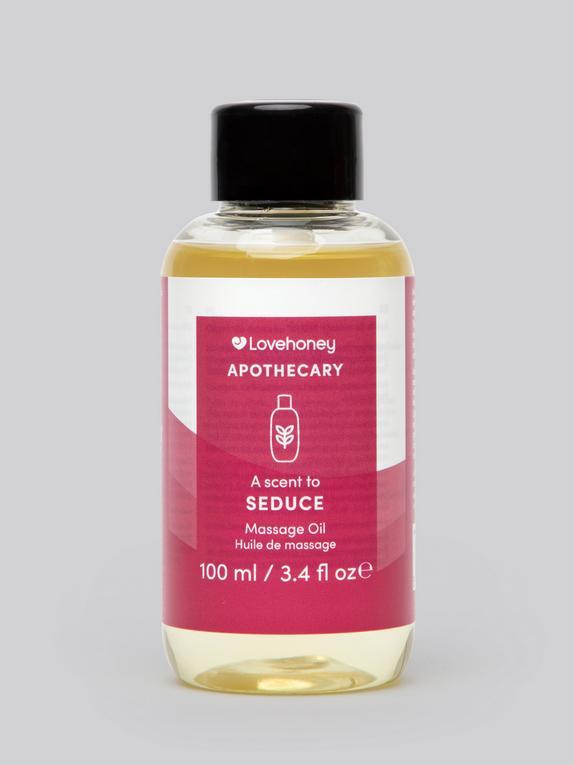 Lovehoney Apothecary Seduce Scent Massage Oil 100ml, , hi-res
