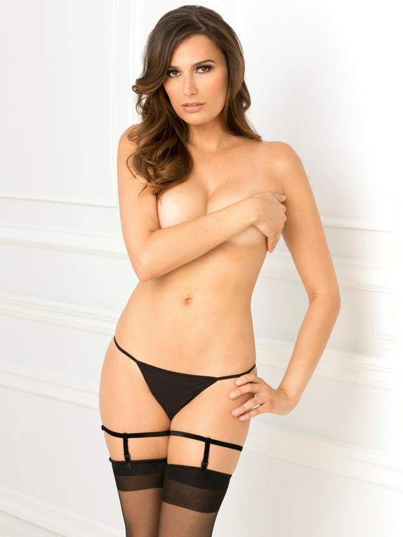 Rene Rofe Black Suspenders, Black, hi-res