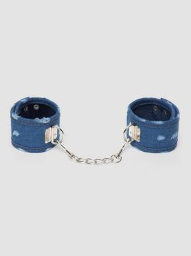 Ouch! Worn Denim Ankle Cuffs