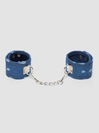 Ouch! Worn Denim Ankle Cuffs