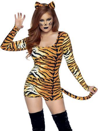 Leg Avenue Untamed Tiger Costume