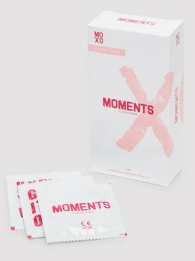 Moments Ultra-Thin Vegan Latex Condoms (10 Pack)