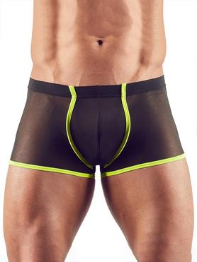 Svenjoyment Black Mesh and Neon Green Boxer Shorts