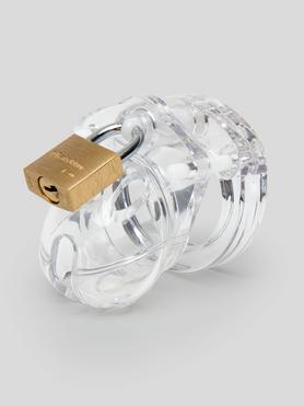 CB Mini Me Clear Chastity Cage Kit