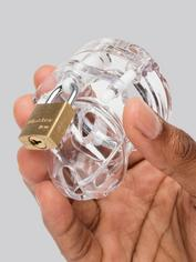 CB Mini Me Clear Chastity Cage Kit, Clear, hi-res