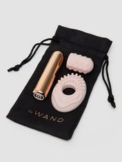 Mini vibromasseur rechargeable en silicone texturé de luxe Bullet Le Wand, Rose, hi-res