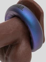 Hueman Saturn Galactic Silicone Vibrating Cock Ring, Purple, hi-res