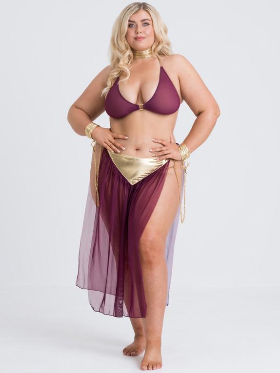 Lovehoney Desert Princess Costume, Purple, hi-res