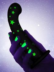 Consolador de silicona de 18 cm que brilla en la oscuridad de Lovehoney, Brilla, hi-res