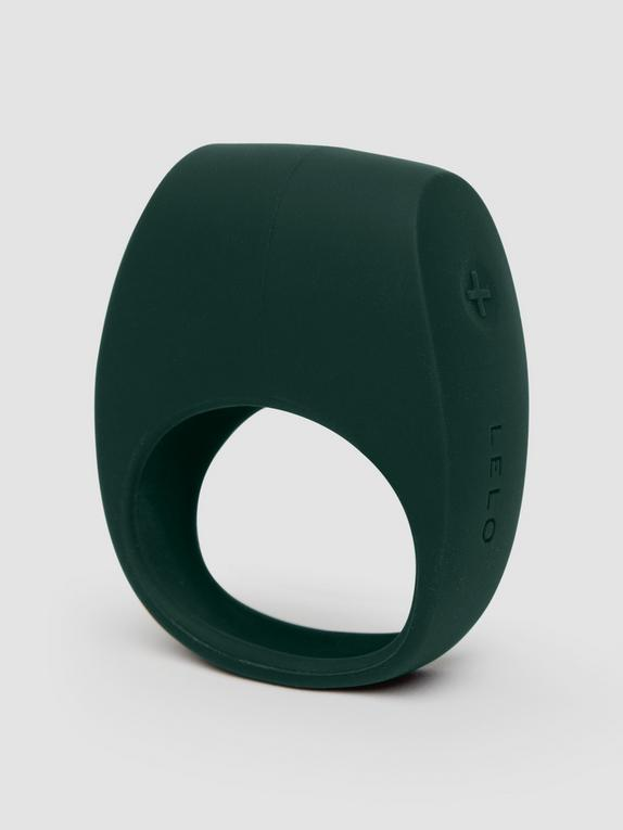 Lelo Tor 2 Luxury Rechargeable Vibrating Cock Ring, Green, hi-res