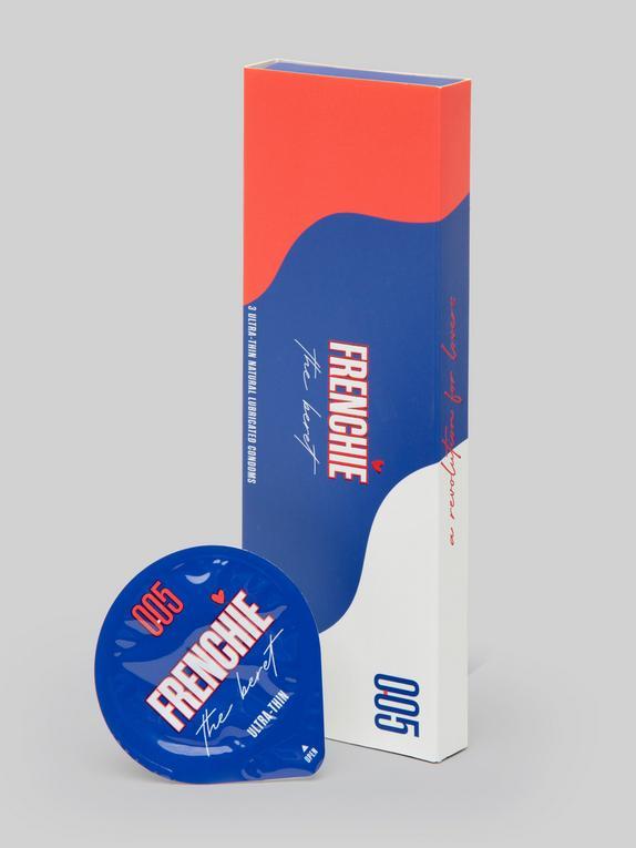 Frenchie The Beret Extra-Thin Vegan Latex Condoms (3 Pack), , hi-res