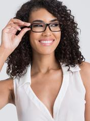 Lovehoney Sexy Costume Glasses, Black, hi-res