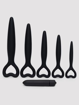 Silicone Vaginal Dilator and Bullet Vibrator Set
