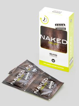 Four Seasons Naked Delay Condoms (12 Pack)