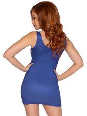 Leg Avenue Union Jack Mini Dress , Blue, hi-res