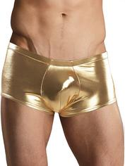 Male Power Heavy Metal Gold Boxers, Gold, hi-res