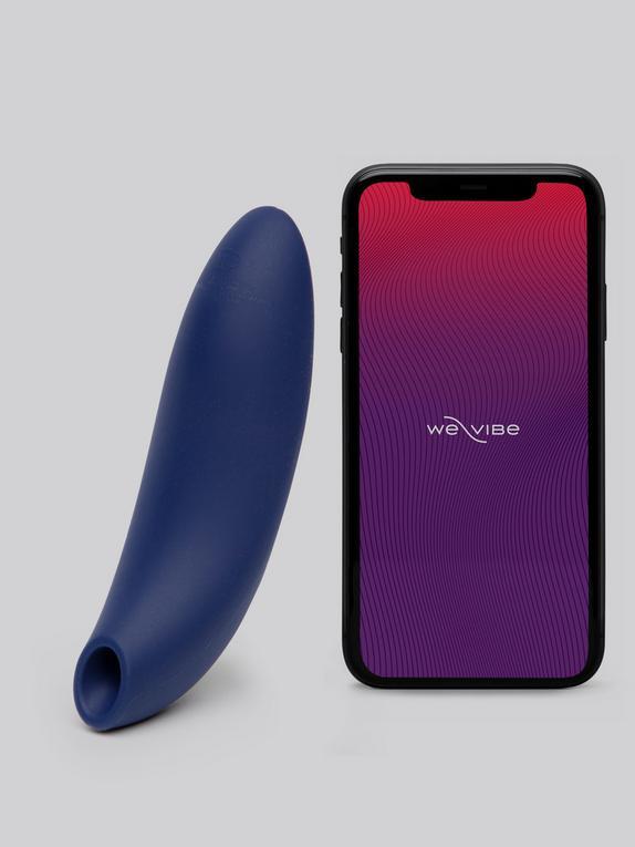 Stimulateur clitoridien connecté rechargeable Melt, We-Vibe, Bleu, hi-res