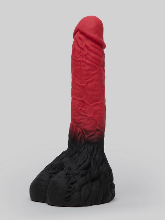 The Realm Lycan Werewolf Realistic Silicone Dildo 8 Inch, Red, hi-res