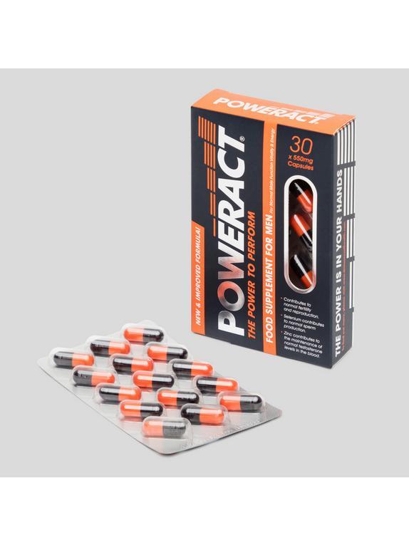 Skins Poweract Performance Capsules for Men (30 Capsules), , hi-res