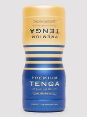TENGA Premium Dual Sensation Onacup, Blue, hi-res