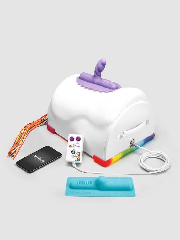 The Unicorn Premium Limited Edition Riding Sex Machine, White, hi-res