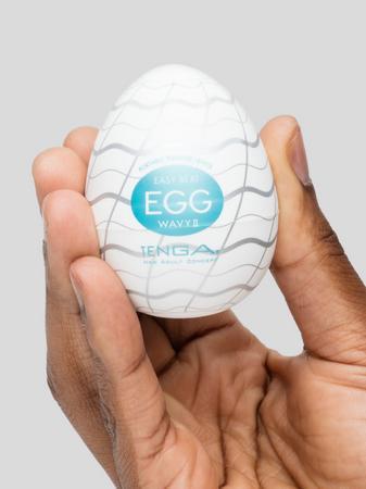TENGA Egg Wavy II Textured Male Masturbator