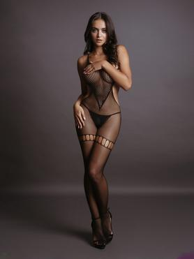 Le Desir Fishnet Crotchless Cut Out Bodystocking
