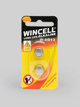 Wincell LR44 Cell Batteries (2 Pack)