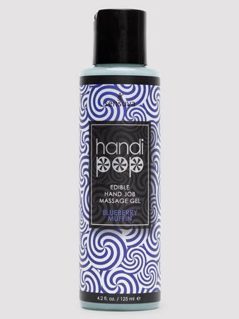 Handipop Edible Handjob Massage Gel Blueberry Muffin 4.2 Oz