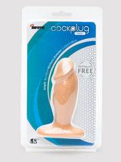 Si Novelties Small Penis Butt Plug 4 Inch, Flesh Pink, hi-res