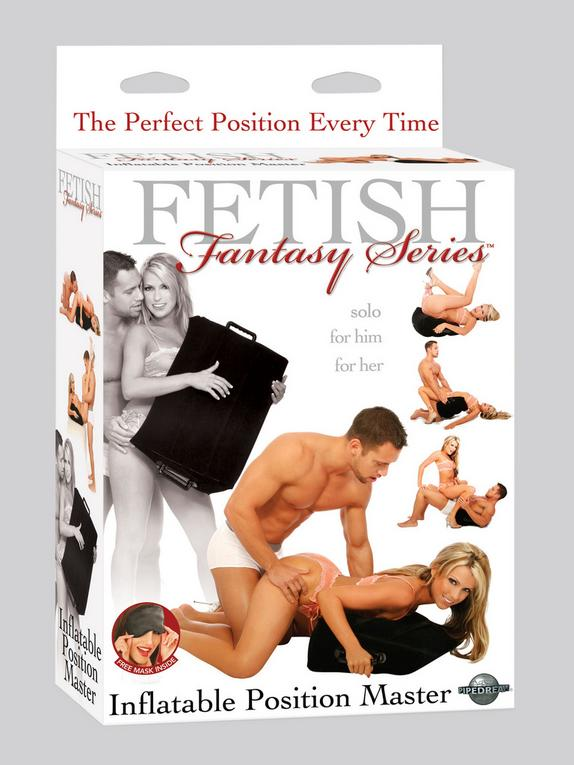 Fetish Fantasy Inflatable Sex Position Master, Black, hi-res