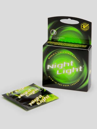 Love Light Glow In The Dark Condoms (3 Count)