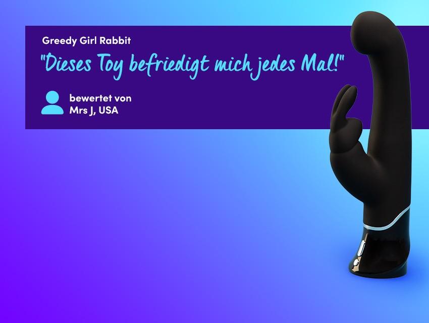 Entdecken Sie Gefühlsexplosionen - Greedy Girl Rabbit