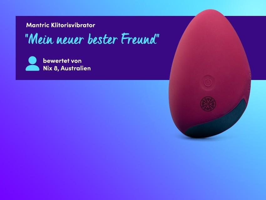 Entdecken Sie kraftvolle Vibratoren - Mantric Klitorisvibrator