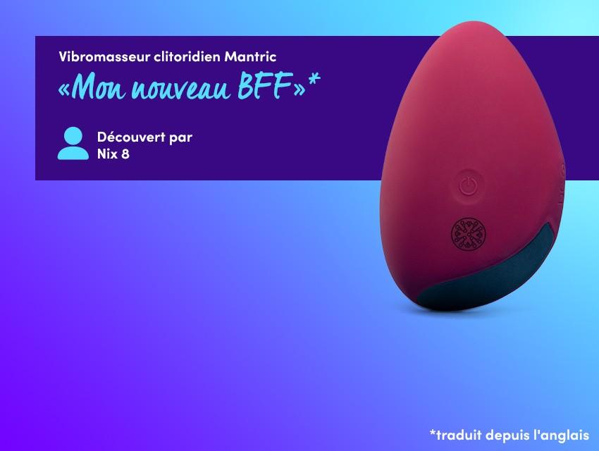 Découvrez des vibrations puissantes - Vibromasseur clitoridien Mantric