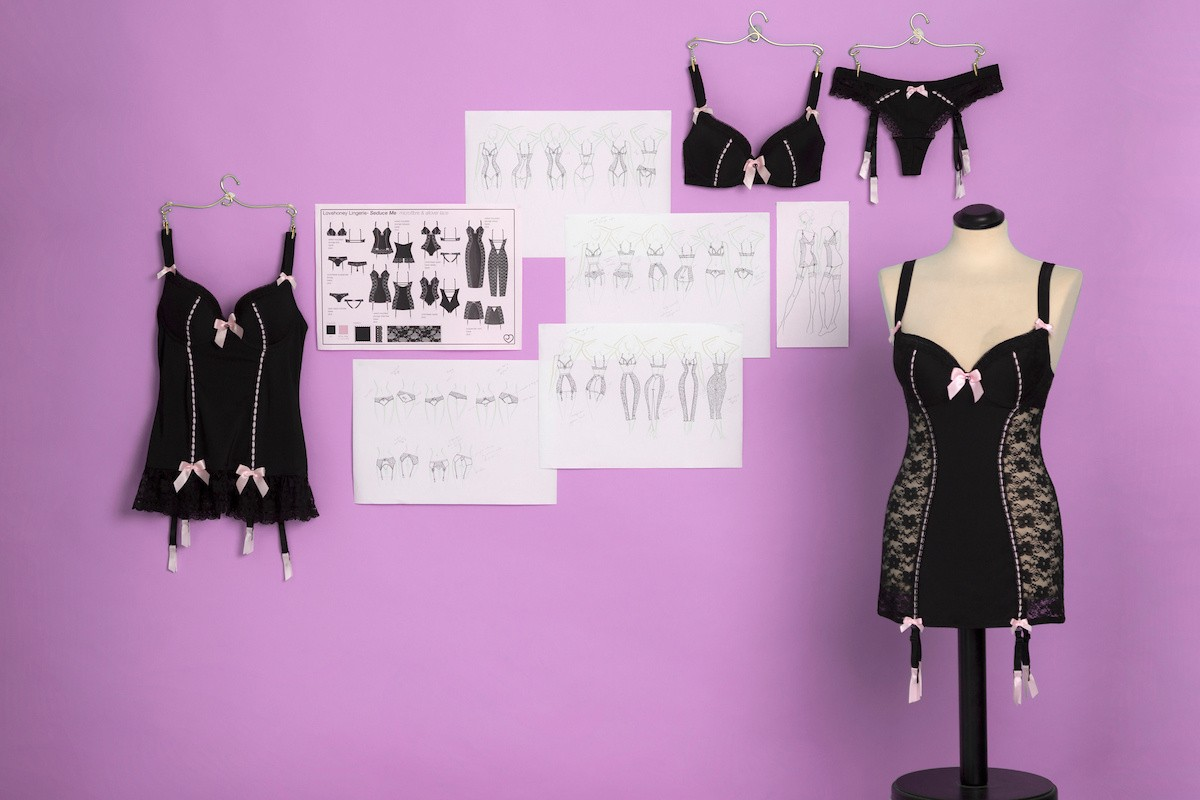 how we design lovehoney lingerie