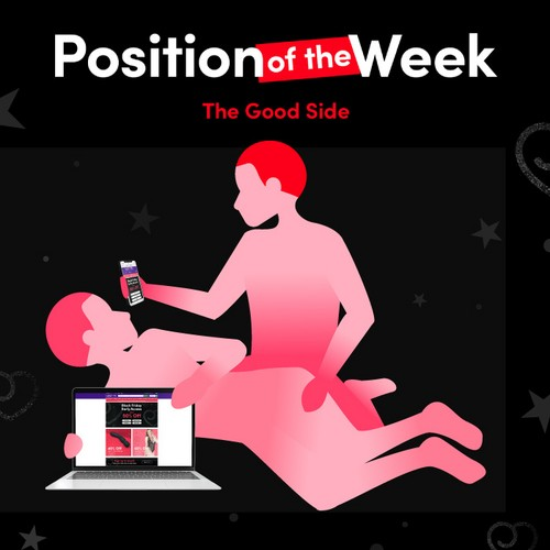 Lovehoney position of the week - the good side
