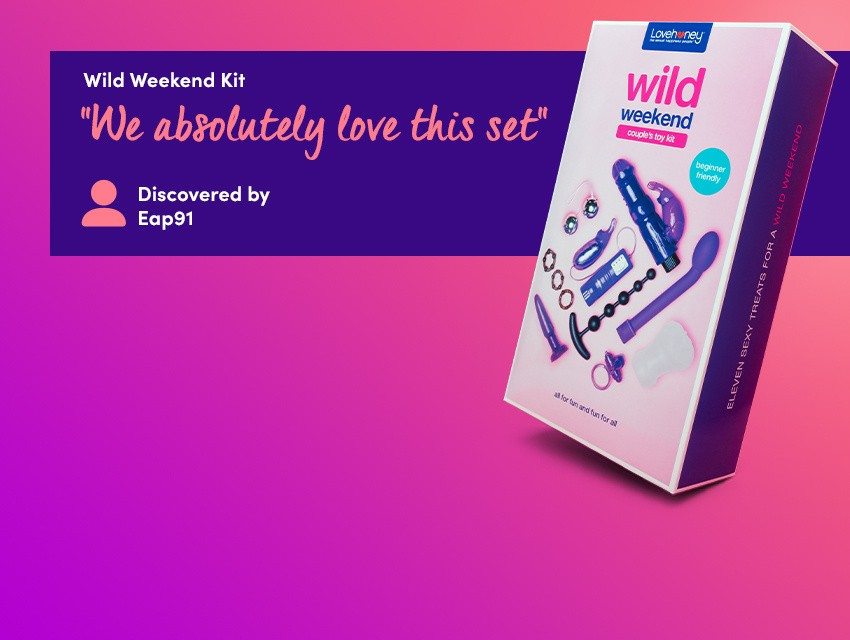 "Discover mind-blowing fun with the wild weekend kit - ""We absolutely love this set"" discovered by Eap91"