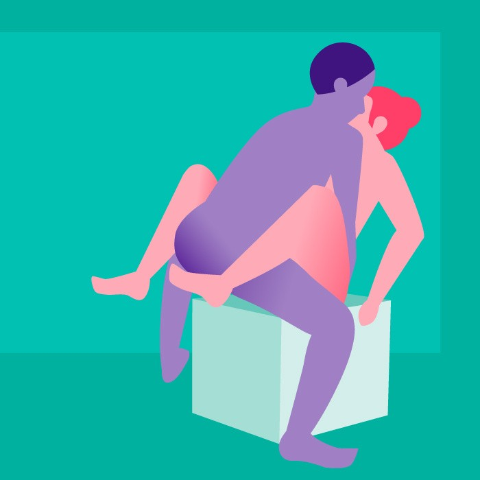 lovehoney position of the week - hot squat
